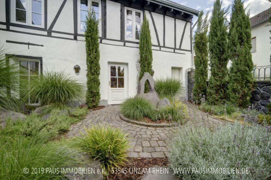Linz/Rhein-Dattenberg: Stilvolles, luxuriöses Ambiente in einem liebevoll sanierten Fachwerkhaus